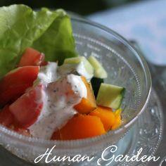 夏野菜のヨーグルトドレッシングサラダのレシピ、作り方(佐藤 絵里子) | 料理教室検索サイト「クスパ」