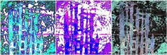Cool post showing color manipulation of a Gelli print!  gelli mosaic darks3 by Cali-rhoz, via Flickr
