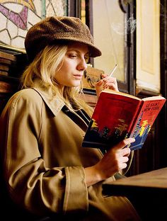 Inglourious Basterds - Melanie Laurent- inspiration for Marianne's hobo outfit