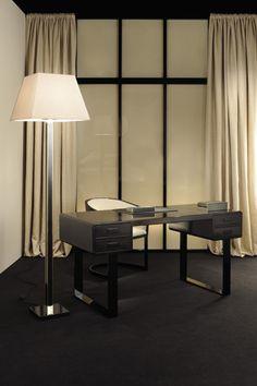 Various shades of Giorgio Armani (the designer, not the label) - ARMANI CASA Armani Interiors, Armani Home, H & M Home, Table Desk, Home Interior Design, Home Office, Decoration, Sweet Home, Design Inspiration