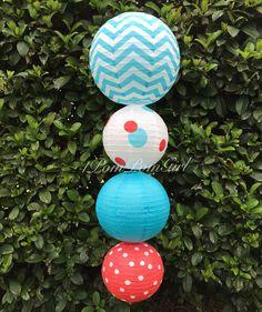 Suessical /Decorated Paper Lanterns Baby Shower, Birthday, Wedding Shower, Bridal Shower, Nursery Decor