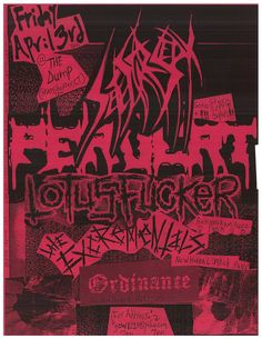 [Flyer] Friday April 3, 2015 SETE STAR SEPT live in Manchester,CT USA w/Lotus Fucker, Excrementals, Ordinance, Pervert https://www.facebook.com/events/691720870938555/