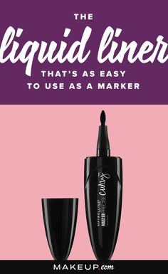 You need this liquid eyeliner from Maybelline in your life, and we'll tell you why.