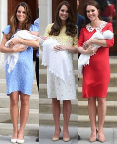 #New The Duke and Duchess of Cambridge welcomed their third child today, a baby boy (23rd April) . Trowback to when Prince George and…