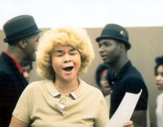 """""""a lot of people think the blues is depressing,"""" etta james told the los angeles times in 1992, """"but that's not the blues i'm singing. when i'm singing blues, i'm singing life. people that can't stand to listen to the blues, they've got to be phonies."""" • RIP, ms. james, you lovely, sassy lady #quoted_from_nyt_obituary"""