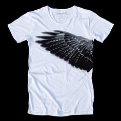 Mens Tshirts Wing Tee WE MAKE Our TRUTH Hand by SiriusGrafik, $45.00
