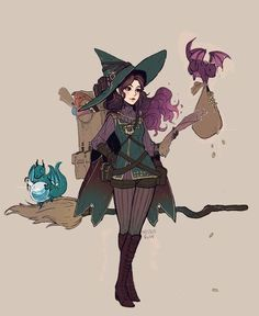 By missusruin fantasy characters, witch characters, fictional characters, character design inspiration, fantasy Character Design Cartoon, Character Design Inspiration, Character Art, Character Ideas, Witch Characters, Fantasy Characters, Fictional Characters, Fantasy Kunst, Fantasy Art