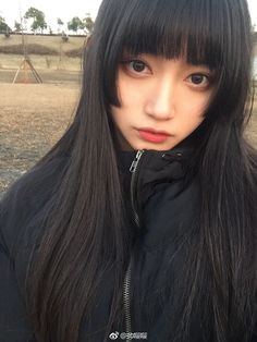 Pin by くろがの on 勉強 in 2020 Kawaii Hairstyles, Cute Hairstyles, Hair Inspo, Hair Inspiration, Japonese Girl, Beautiful Japanese Girl, Poses References, Hair Reference, Asian Hair
