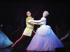 Disney Dreams ~ Disney Cruise Line Show ~ Cinderella & Prince Charming