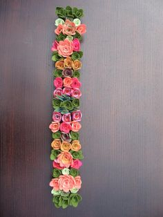 vertical garden or table runner by miasole on Etsy