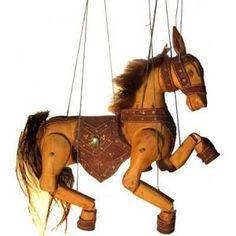 marionnette cheval d - marionnette cheval de bois --- #Theaterkompass #Theater #Theatre #Puppen #Marionette #Handpuppen #Stockpuppen #Puppenspieler #Puppenspiel