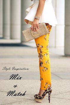 Style Inspiration: Mix & Match