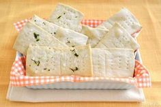 » Crackers Ricette di Misya - Ricetta Crackers di Misya