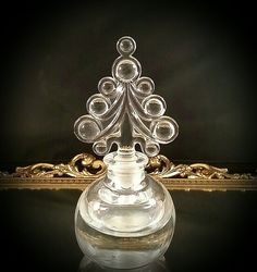 Hey, I found this really awesome Etsy listing at https://www.etsy.com/listing/223005765/art-glass-crystal-perfume-bottle