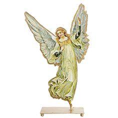 Aufsteller Metall Engel