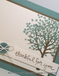 Stampin up stamping pretty stampinup mary fish sheltering tree 1