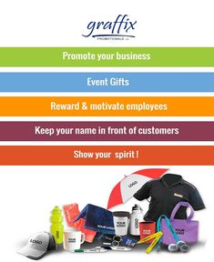 Market #business with best #promotionalproducts @ Graffix Promotionals Inc. Your #promotional material will act as an ambassador, perfect product for your #brand #Logo