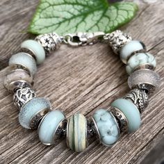 Beautiful soothing combination By Marthnickbeads