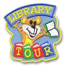 Library Tour Fun Patch