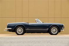 1963 MASERATI 3500 GT VIGNALE SPYDER - Side Profile - 212968