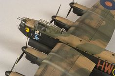 1/72 Avro Lancaster 02 Lancaster Bomber, Lany, Scale Models, Aircraft, Role Models, Aviation, Plane, Airplane
