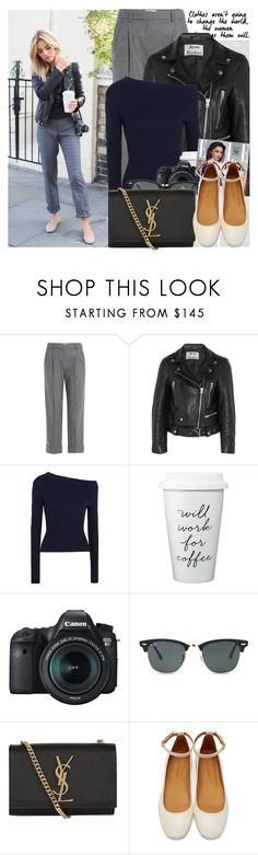 """2392. Blogger Style: Make Life Easier"" by chocolatepumma ❤ liked on Polyvore featuring Oris, Michael Kors, Acne Studios, Jacquemus, Kerr®, Eos, Ray-Ban, Yves Saint Laurent and Isabel Marant"