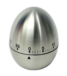 Zeller 27245 Egg Timer 6 x 10 cm Stainless Steel Buy this and much more home & living products at http://www.woonio.co.uk/p/zeller-27245-egg-timer-6-x-10-cm-stainless-steel/