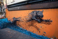 Dynamic Street Art Murals That Are Bursting With Energy