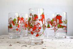 Vintage Strawberry Shortcake Ice Tea by BlueRememberedHills