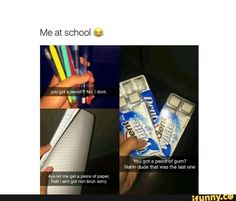 Lol anytime I let some1 use a pencil it mysteriously disappears so I don't let people borrow my pencils anymore