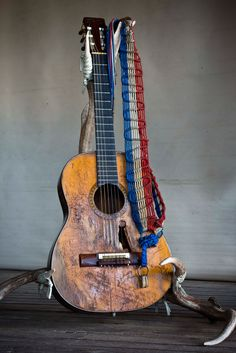 the antler stand for ben :) guitar: willie's. Photograph by Wyatt McSpadden.