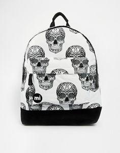 b234ad0add5ea Mi-Pac Skulls Backpack at asos.com