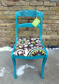 Tell City chair redone
