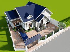 New House Architecture Design Classic Ideas Bungalow House Design, Modern House Design, Facade House, House Roof, Modern Architecture House, Architecture Design, Beautiful House Images, 1 Story House, Small Villa
