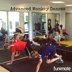 Juniors in class today working on some advanced monkey dances. Trying to combine rotational stability, co-ordination and core strength full video at: https://instagram.com/p/6x-zfKgsOJ/?taken-by=golffitltd