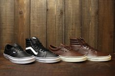Vans Classics Aged Leather Collection