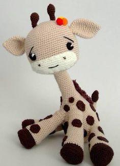 Resultado de imagem para video de girafa amigurumi