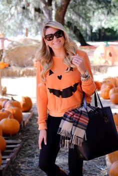 fd1f139b75b1 2017 Hot Women Halloween Pumpkin Print Long Sleeve Sweatshirt Pullover Tops  Blouse Holiday Casual Outwear Sweatshirts Plus Size