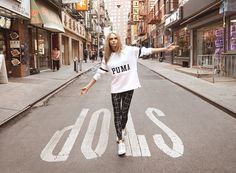 "Cara Delevingne is the new face of Puma's ""Do You"" campaign, the company…"