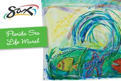 """Florida Sea Life Mural"" art lesson plan by Sax for grades Your students will work together to create an underwater mural that offers a visual representation of their discoveries in both art and science. Painting Lessons, Art Lessons, Mural Art, Murals, Middle Schoolers, Animal Activities, Art Lesson Plans, Life Science, Fences"