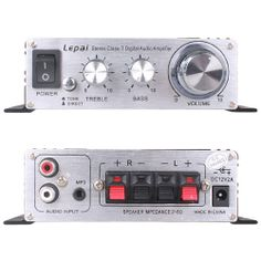 2013 Lepai Stereo Class T digital audio amplifier