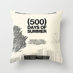 (500)+Days+of+Summer+Throw+Pillow+by+Martin+Lucas+-+$20.00
