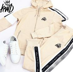 Kings Will Dream Sand / Beige Tarves Full Zip Hooded Top Latest Fashion, Fashion Online, Fashion Brand, Adidas Jacket, Hoods, Topshop, King, Beige, Fashion Outfits