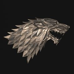 game of thrones - house stark model max obj stl mtl 2 Game Of Thrones Houses, Game Of Thrones Fans, House Stark Sigil, Hd Wallpaper Android, Wallpapers, Game Logo, 3d Character, 3d Animation, Fantasy Art