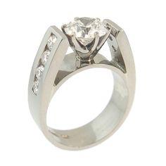 Handmade at Cameron Jewellery. Handmade Wedding Jewellery, Wedding Jewelry, Wedding Rings, Wedding Ring Designs, Brilliant Diamond, Diamond Rings, White Gold, Engagement Rings, Beautiful