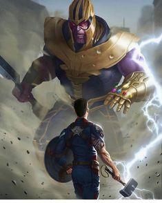 Túlio brito marvel heroes marvel avengers, marvel comics ve marvel. Thanos Marvel, Marvel Dc Comics, Captain Marvel, Avengers Vs Thanos, Marvel Fanart, The Avengers, Marvel Memes, Captain America Art, Marvel Heroes