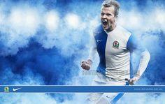 Blackburn Rovers FC 2013/14 Nike Home Kit