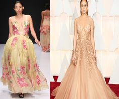 Wouldn´t these look great on #Jennifer #Lopez too for The #Oscars 2015   87th #Academy #Awards #Red #Carpet #Look  in a #Heather #Jones #Design from #Trinidad & #Tobago......
