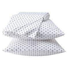Polka dot sheets $17