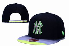 6b041077a13 New York Yankees Stripe Brim Strapback Hats Black 348